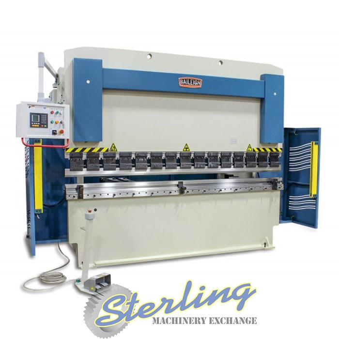 Brand New Baileigh 2 Axis CNC Hydraulic Press Brake - CNC