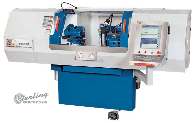 Brand New Knuth CNC Cylindrical Grinder - Grinders Sterling Machinery