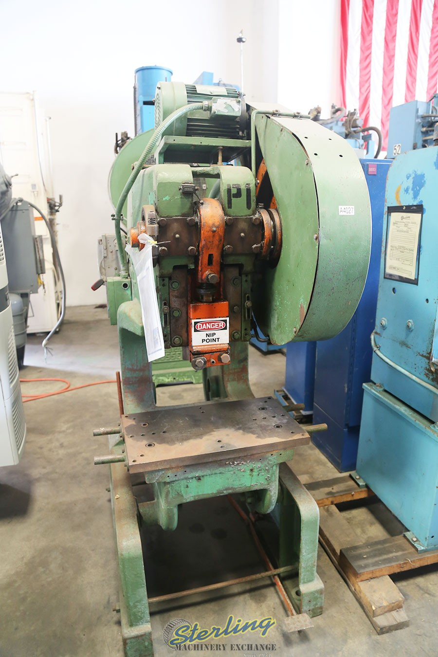 Used Rousselle OBI Deep Throat Punch Press (Single Crank