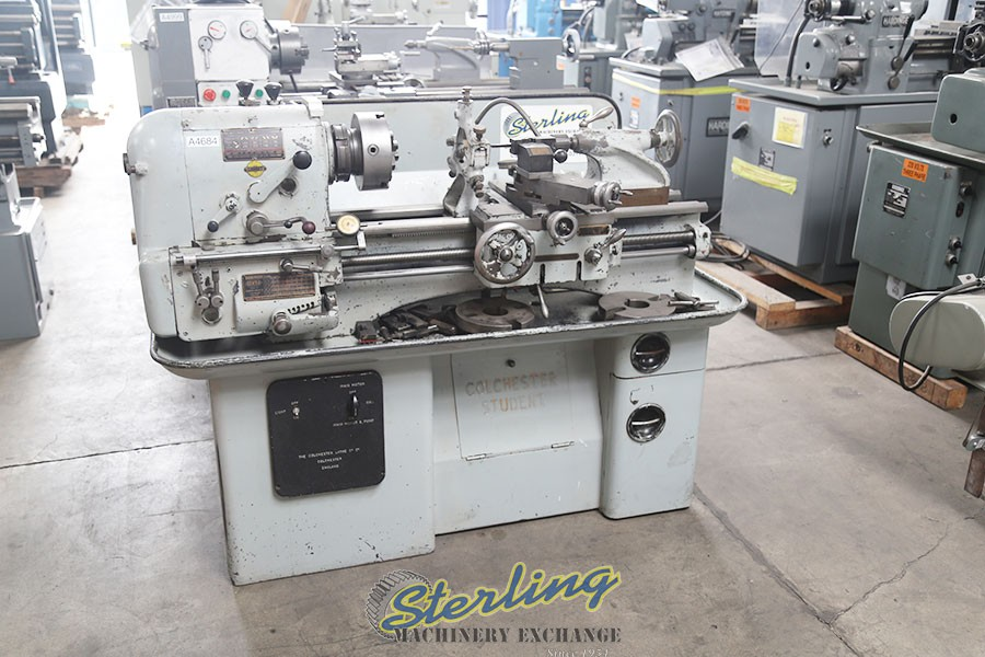 Used Clausing Student Lathe Sterling Machinery