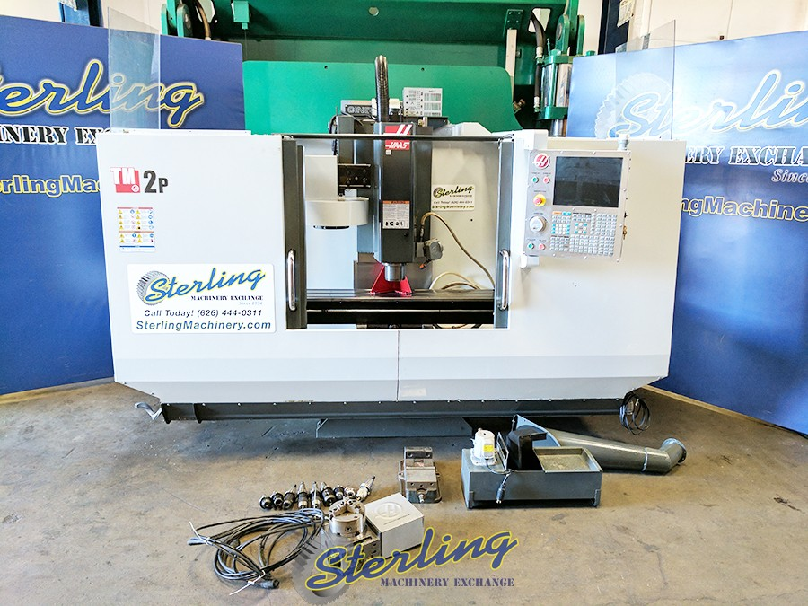 Used HAAS CNC Toolroom Milling Machine With 4th Axis Rotary