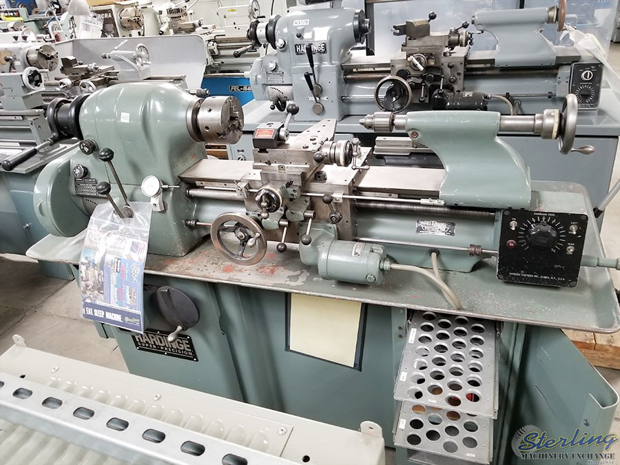 Used Lathes Engine Lathe For Sale Precision Lathes Tool Room >> Used Hardinge Precision Tool Room Lathe With Inch Threading