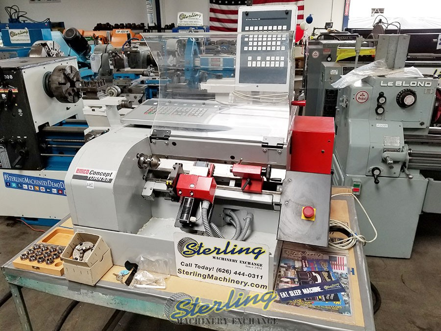 Used Emco Concept Turn 55 CNC Horizontal Lathe Sterling