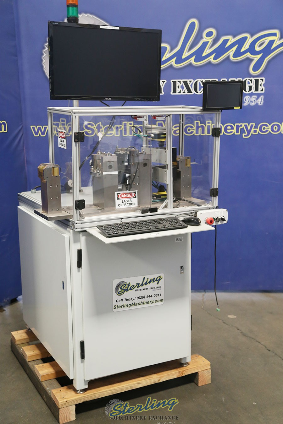 Used Laser Operation Inspection Machine Sterling Machinery