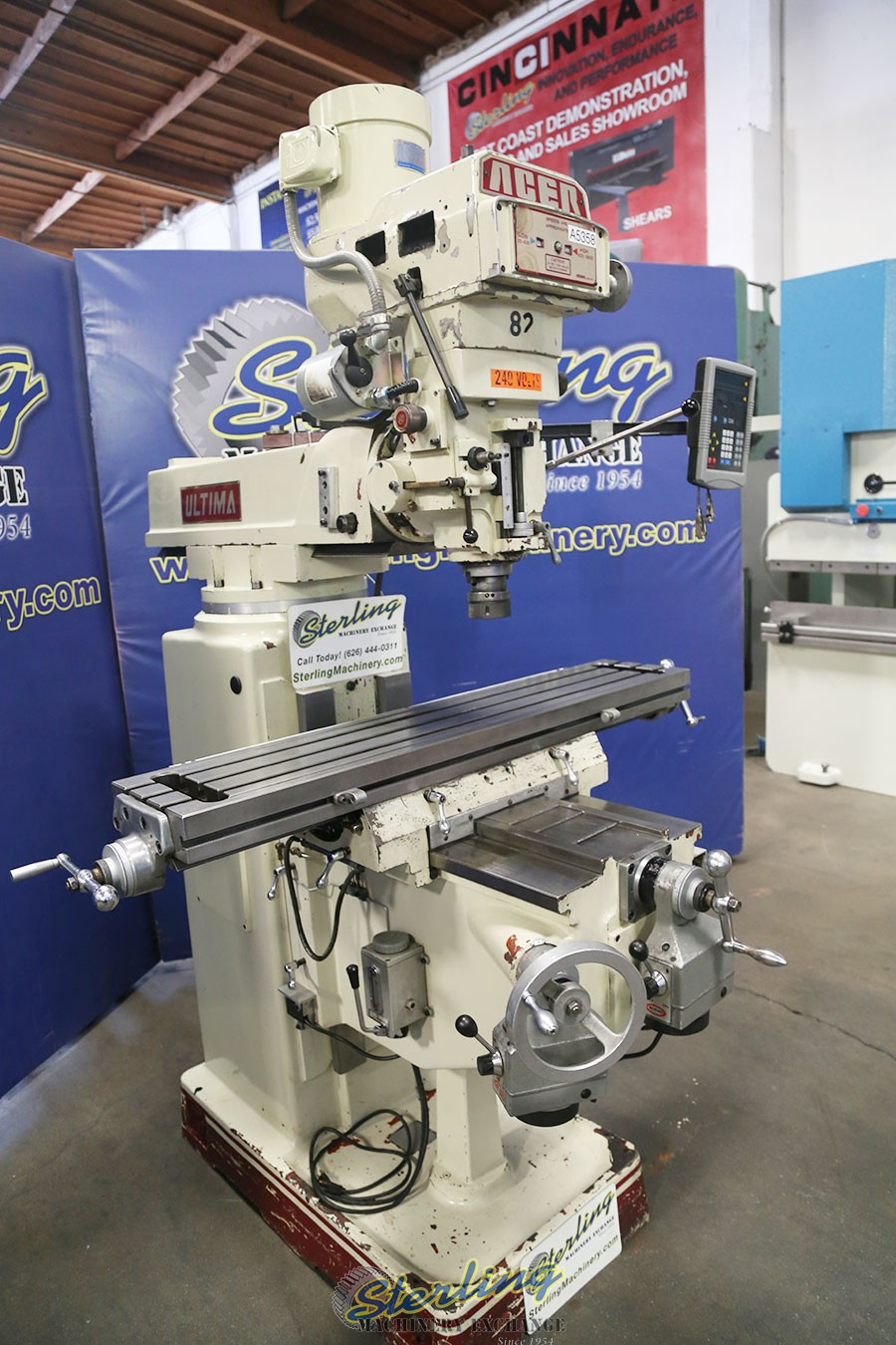 Milling Machines For Sale Used Metal Milling Machines >> Used Acer Ultima Vertical Milling Machine Milling Machines