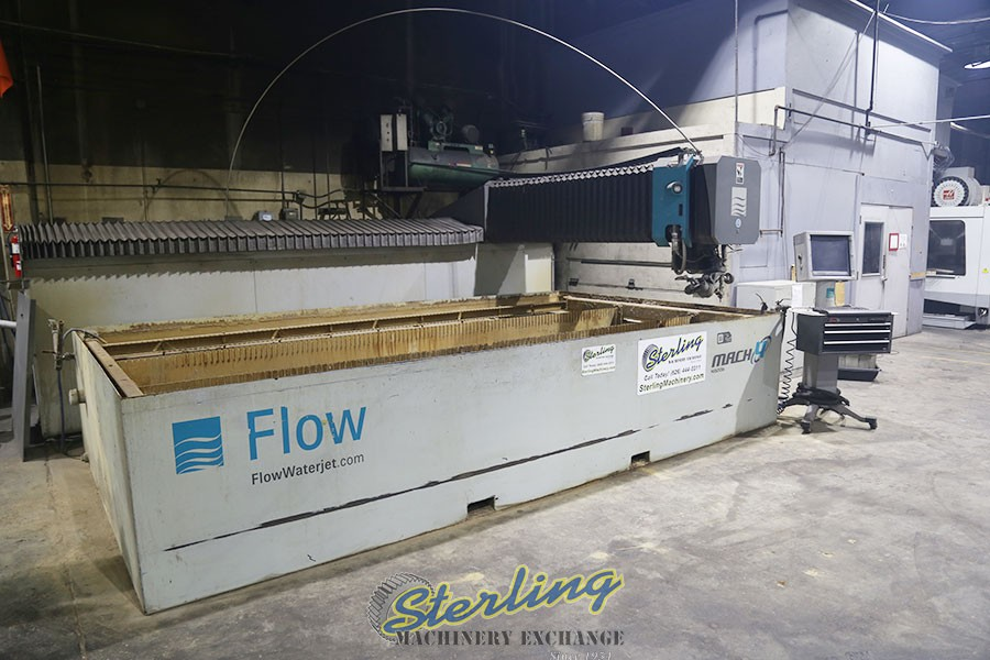 9' x 15' Used Flow 5-Axis Dynamic XD CNC Waterjet Cutting