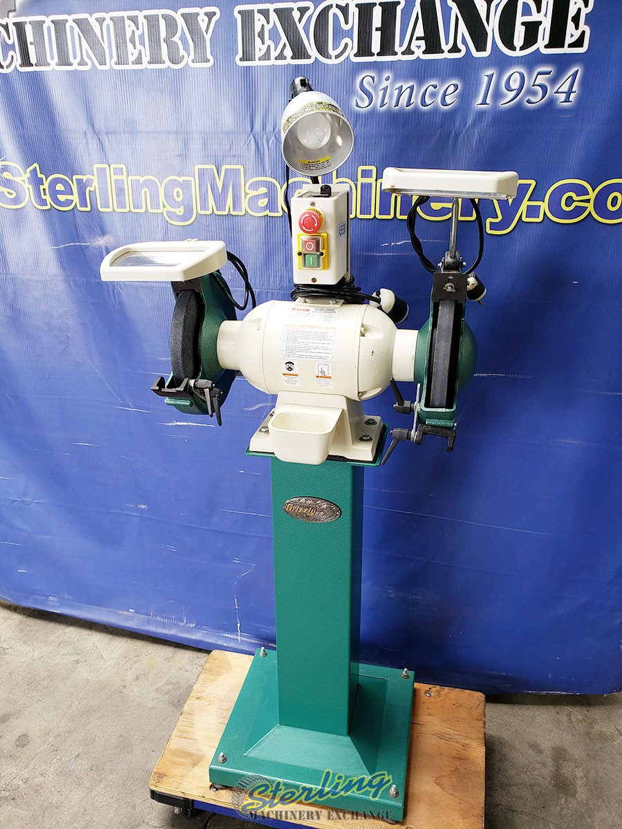 Pleasing Used Grizzly Bench Grinder Heavy Duty Sterling Machinery Dailytribune Chair Design For Home Dailytribuneorg