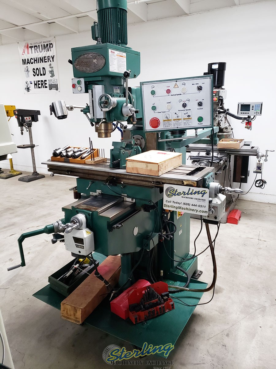 Used Milling Machine >> Used Grizzly Vertical Horizontal Milling Machine Milling