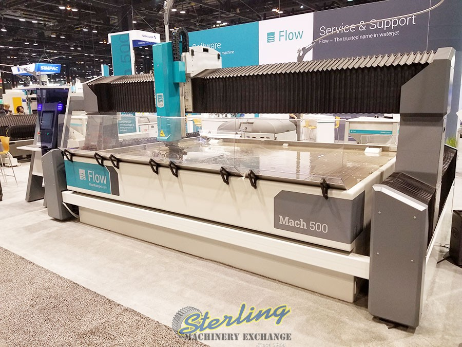 Buy-Sell-Trade, New and Used Flow & Omax Waterjet Cutting