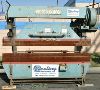 Used Wysong Press Brake
