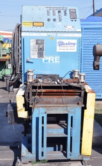 Used Lodge & Shipley Cut To Length Line with Rowe 12,000 Lbs. Coil Reel, Press Room Straightener/Feed and a Lodge & Shipley Cut-Off Shear