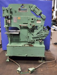 Used Hill Acme Hydraulic Ironworker (Dual Operator)