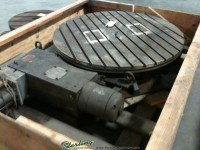 Used W.B. Knight Powered Rotary Table