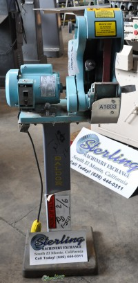 Used Burr King Belt Sander