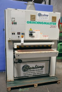 Used Grinding Master Wide Belt Sanding Machine