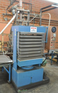 Used PHI Credit Card Hydraulic Laminating Press With Steam Heated Platens