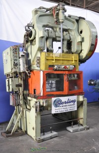 Used Bliss Air Clutch Open Back Double Crank Inclinable Punch Press