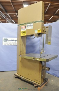 Used Powermatic Deep Throat Vertical Wood and Plastic Cutting Bandsaw