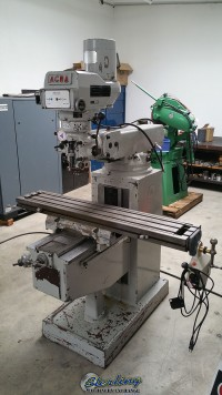 Used Acra Variable Speed Heavy Duty Vertical Milling Machine