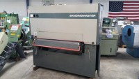 "Used Sandingmaster Wide Belt Single Head Sander ""Wood Working Machine"""