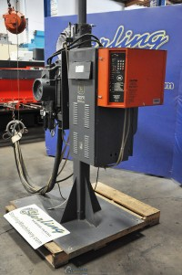 Used Janda Gun Welder With Beam Arm