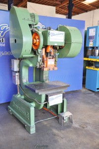 Used Rousselle OBI Deep Throat Geared Punch Press