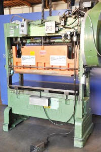 Used Rousselle Straight Side Single Crank Press