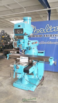Used Bridgeport HEAVY DUTY Series II Vertical Milling Machine