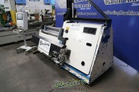 Used Davi Hydraulic CNC 4 Roll Sheet Metal Plate Roll With Vertical Support System