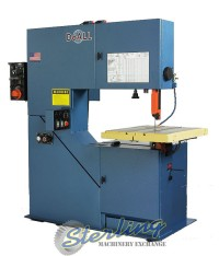 """Brand New DoALL """"Variable Frequency Inverter AC Drive"""" Vertical Contour Bandsaw"""