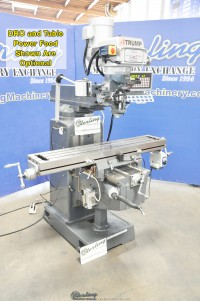 "Brand New Atrump Variable Speed Vertical Milling Machine ""Bridgeport Copy"""
