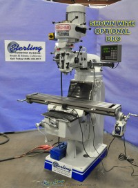 Brand New Birmingham (Step Pulley) Milling Machine