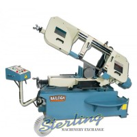 Brand New Baileigh Horizontal Semi-Automatic Metal Cutting Band Saw