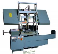 Brand New W.F. Wells CNC Automatic Horizontal Twin Post Bandsaw with CNC Shuttle Barfeed