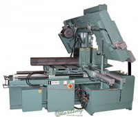 Brand New W.F. Wells CNC Fully Automatic with Shuttle Type Barfeed Horizontal Twin Post Band Saw