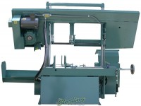 Brand New W.F. Wells Semi-Automatic Horizontal Heavy Duty Twin Post Bandsaw *AMERICAN MADE*