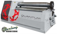 Brand New Tauring Group Double Pinch Hydraulic 4 Roll Plate Bender