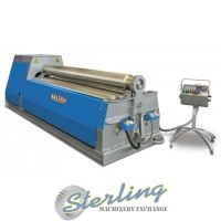 Brand New Baileigh NC Controlled 4 Roll Plate Roll