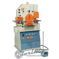 Brand New Baileigh 50 Ton 5 Station Ironworker