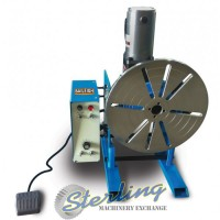 Brand New Baileigh Foot Pedal Operated Welding Positioner
