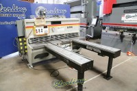 Used Accurshear Hydraulic Power Shear with Front CNC Gauging