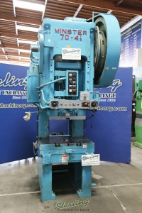 Used Minster Punch Press