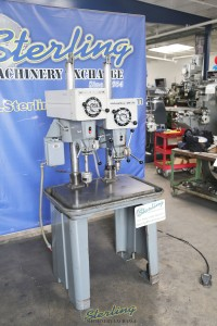 Used Rockwell Delta 2 Head Gang Drill Press
