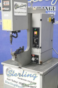 Used Haeger Insertion Press With Tooling