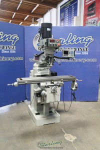 Used Kent Vertical Milling Machine with Inverter Head (Excellent Condition)