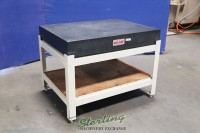 Used Mojave Surface Plate With Stand (No Ledge)