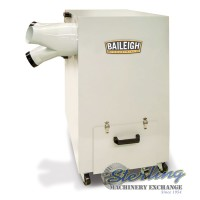 Brand New Baileigh Metal Dust Collector