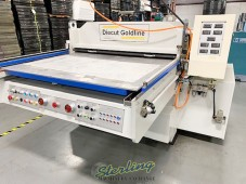 Used DieCut Uk Clicker Press New Price $105,000.  Save Tens Of Thousands On A Like New Machine