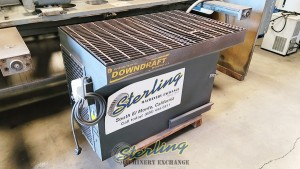 Used Diversi-Tech Downdraft Bench SINGLE PHASE! (Great for Dust, Smoke, Or Fumes from Welding, Grinding, Deburring, Cutting , Sanding, Finishing, Soldering, Painting or Mixing)