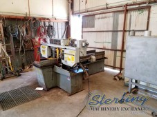 Used Hydmech Automatic Horizontal Pivot Style Band Saw